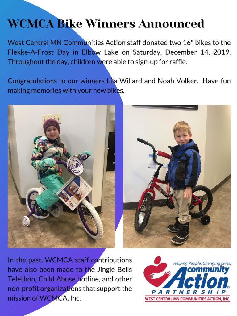 WCMCA Bike Winners - Flekke-A-Frost