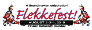 flekkefest elbow lake logo mark