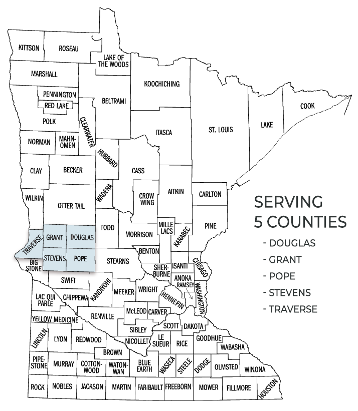WCMCA Service Counties