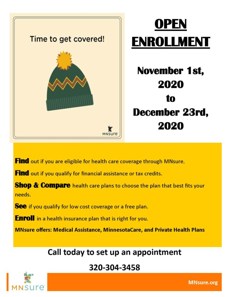 MNSure Open Enrollment